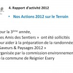 Actions 2012